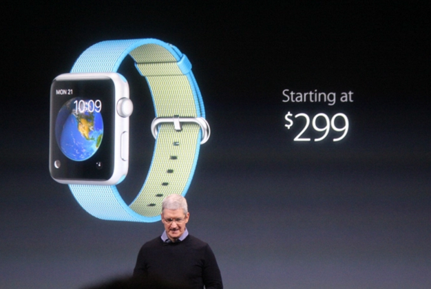 The entry-level price for the Apple Watch is dropping to $299