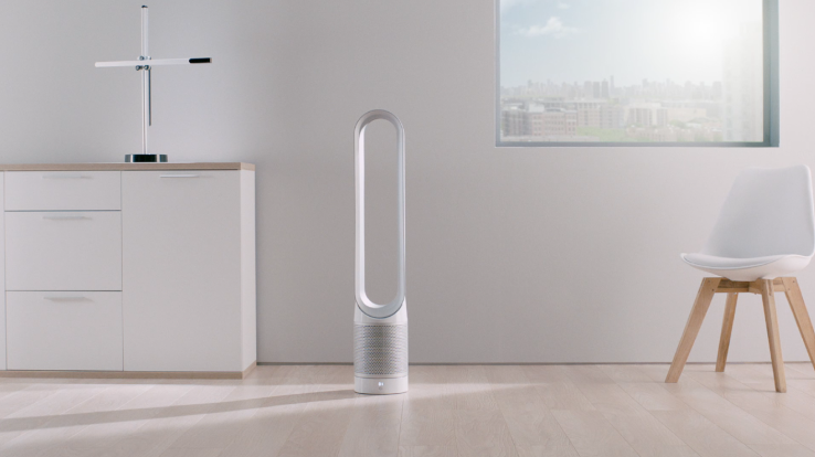 Dyson's new purifier fan purportedly tackles the problem of home air quality