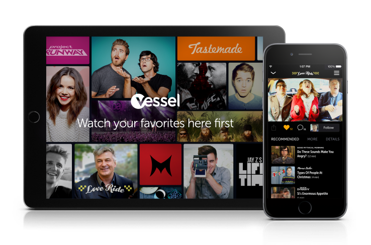 Following YouTube Red, video subscription service Vessel goes ad-free for paying subscribers