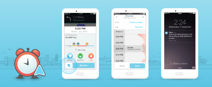 Waze now tells you when to leave, thanks to its new Planned Drives feature