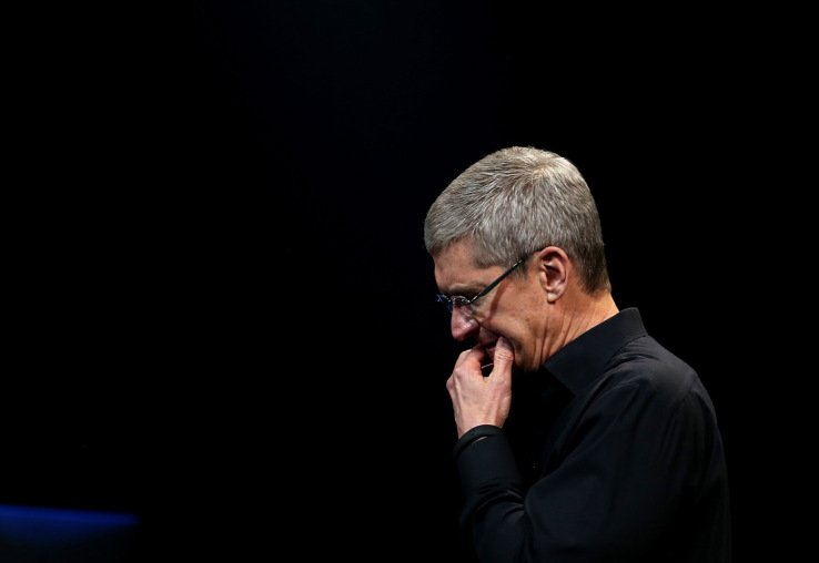 Why Apple's stock fell off a cliff today