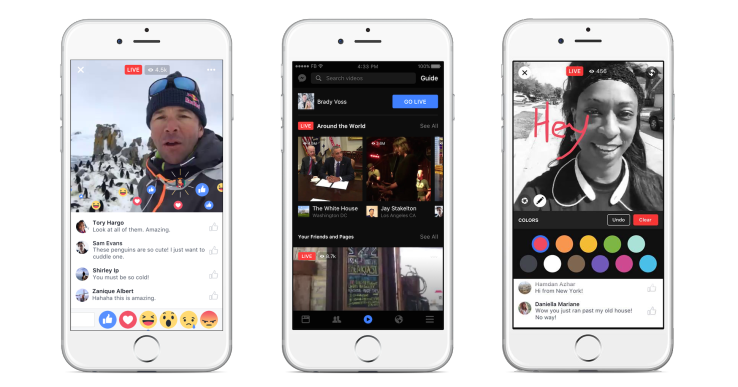 Facebook bets big on Live with new mobile video discovery tab