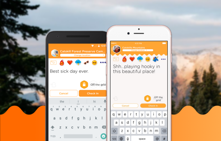 Swarm now lets users check in without sharing their location