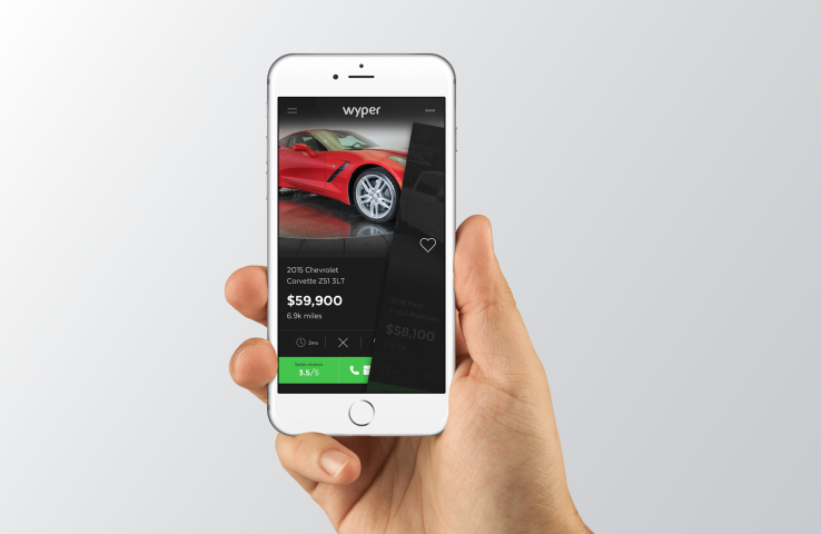 Wyper fancies itself the Tinder of car shopping