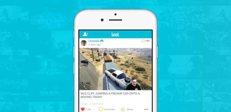 Leet debuts a simple app for sharing your best gameplay highlights