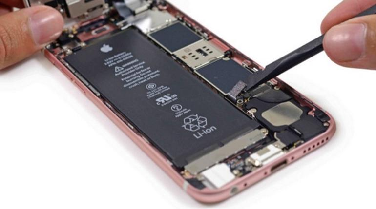 Inside the iPhone 6S
