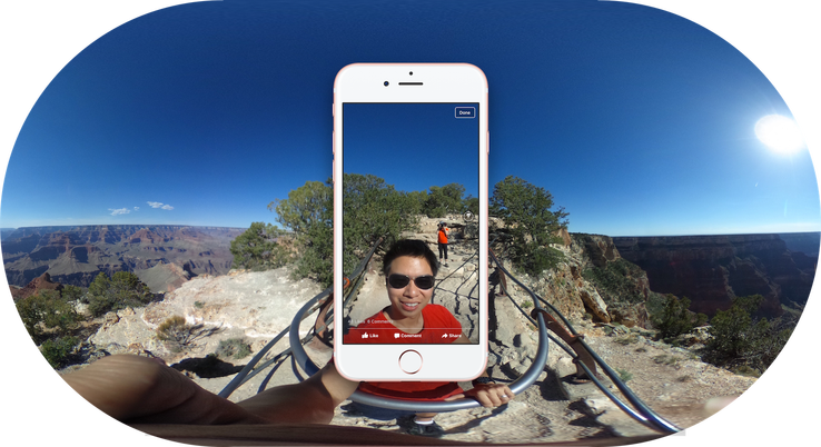 "Facebook unlocks tilt-viewing of your panoramas with ""360 Photos"""