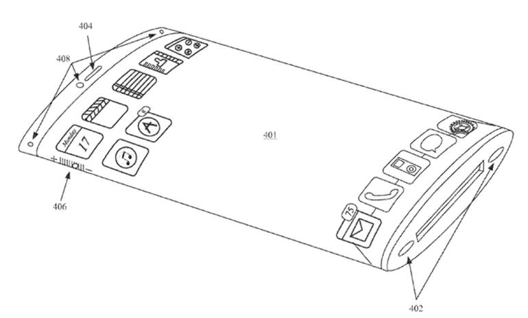 Apple patents phone that is all display