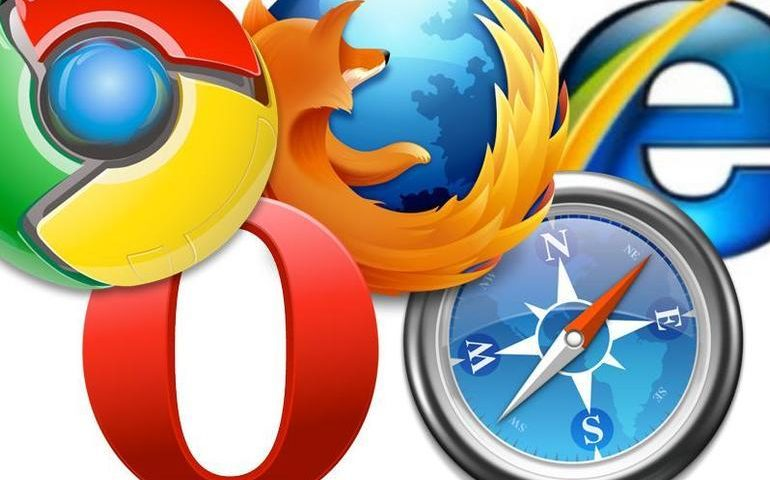 Which browser is most popular on each major operating system?