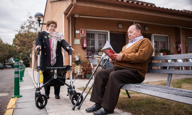 Depth-sensing walker monitors and connects the elderly and mobility impaired