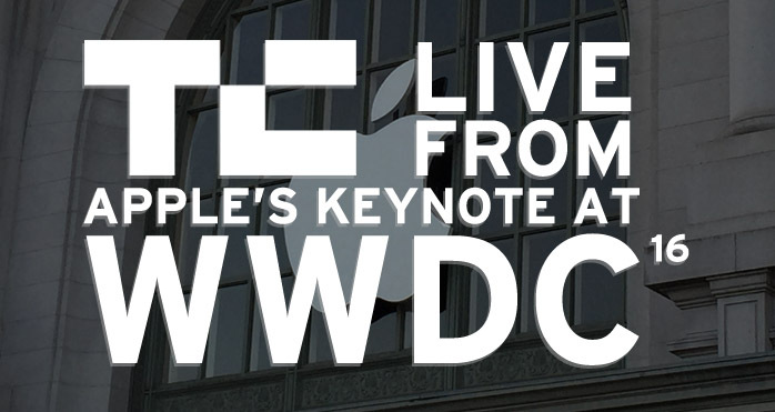 Live from Apple's Keynote at WWDC 2016