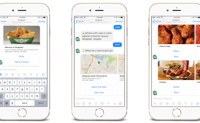 Conversable chatbot will offer allergy info along with a side of Wingstop wings