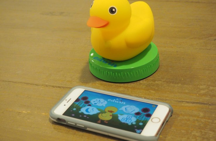 Playing around with a smart rubber duck