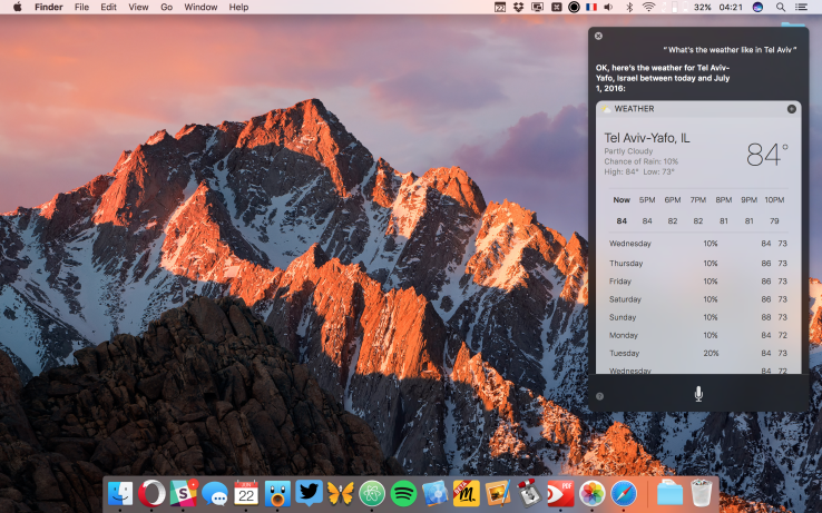 The first macOS Sierra public beta is coming today