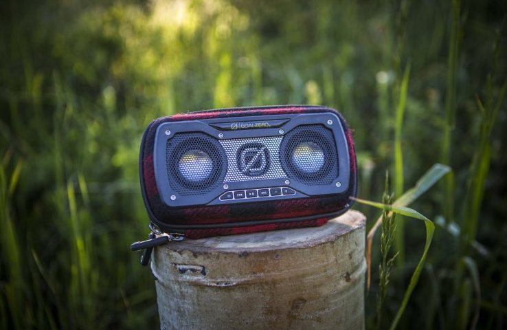 Finally, a Bluetooth speaker that matches my axe