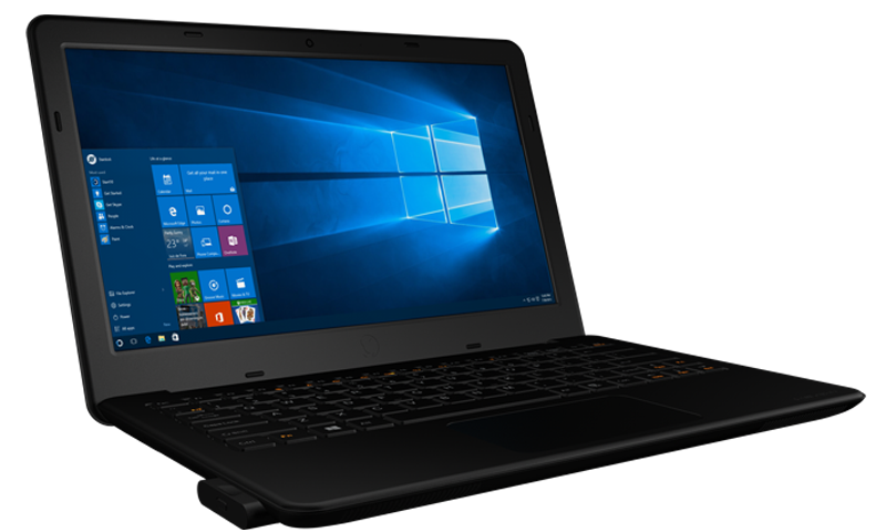 InFocus Kangaroo Notebook gives you two swappable Windows 10 PC modules in one $299 laptop