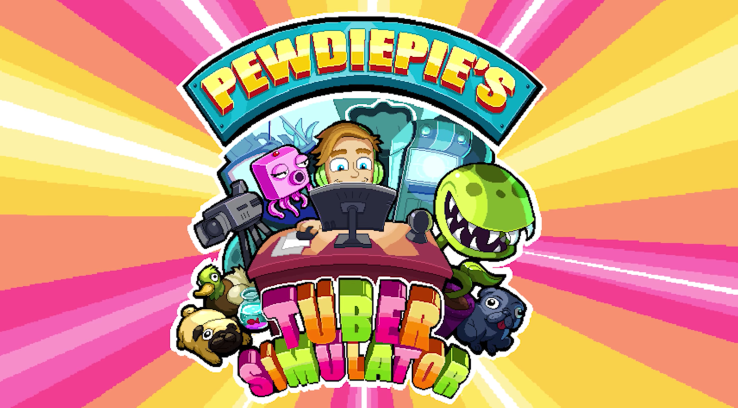 """PewDiePie's new game """"Tuber Simulator"""" hits the top of the App Store, crashes"""