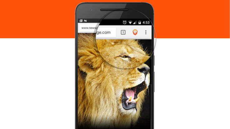 Brave, the browser with built-in ad blocking, tries again on Android