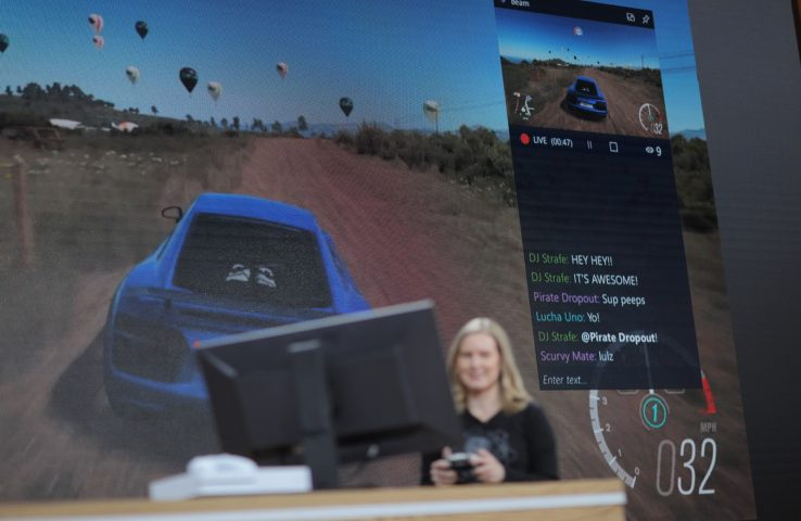Gaming features in Windows 10 Creator's Update include native Beam streaming