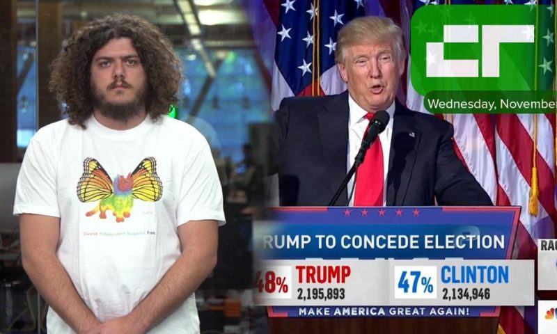 Crunch Report | Donald Trump Is 45th President of U.S.