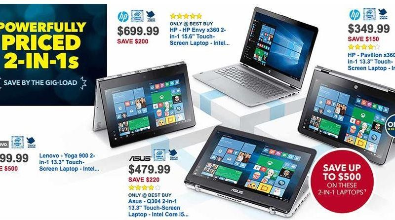 Best Buy Black Friday ad reveals $100 Windows laptop deal, $125 iPad Air 2, Pro savings