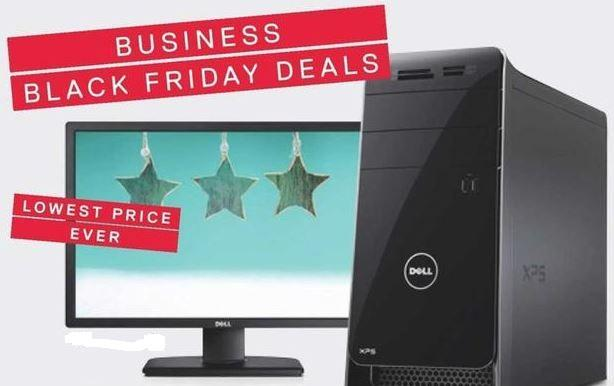 Ads for Dell Small Business Black Friday, Cyber Monday leak
