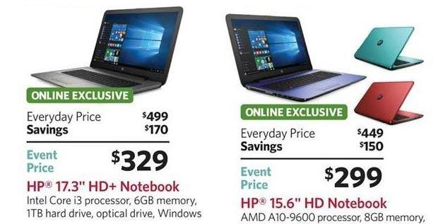 Sam's Club Black Friday ad leaks with HP laptop, desktop deals