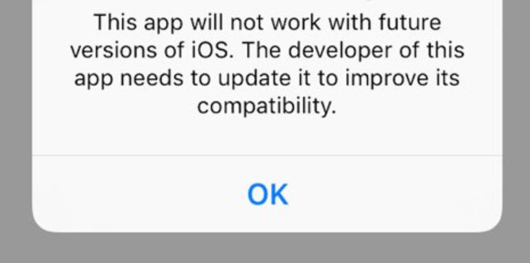 Apple's iOS 10.3 beta warning: Does it signal end for 32-bit apps in iOS 11?