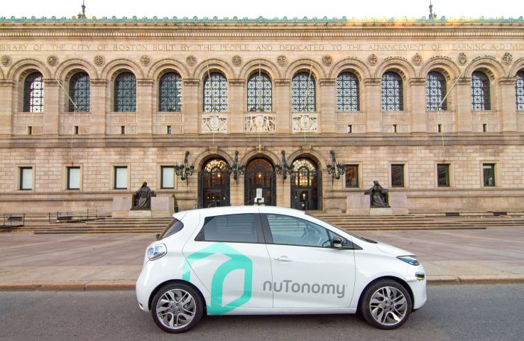 Lyft's self-driving pilot with nuTonomy begins rolling out in Boston