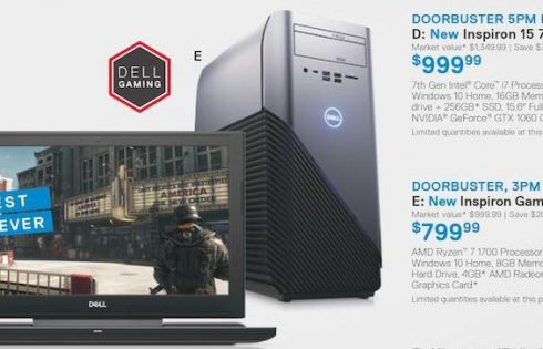 Dell offers numerous Cyber Monday deals on laptops, desktops, including $130 Inspiron notebook