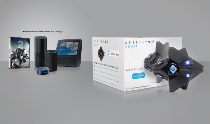 New Destiny 2 Alexa skills let you ask Ghost to do stuff in-game