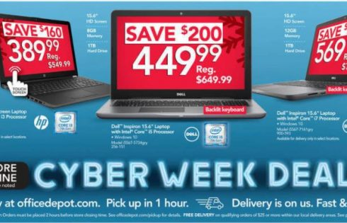 The best Office Depot and OfficeMax Cyber Monday laptop, desktop PC deals