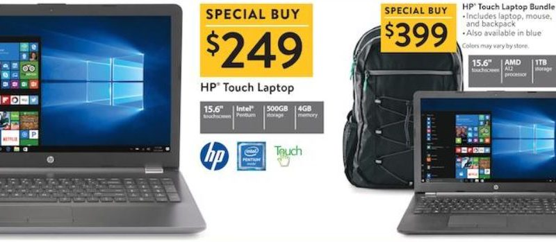 Walmart 2017 Black Friday ad features $119 Chromebook, $249 iPad deals