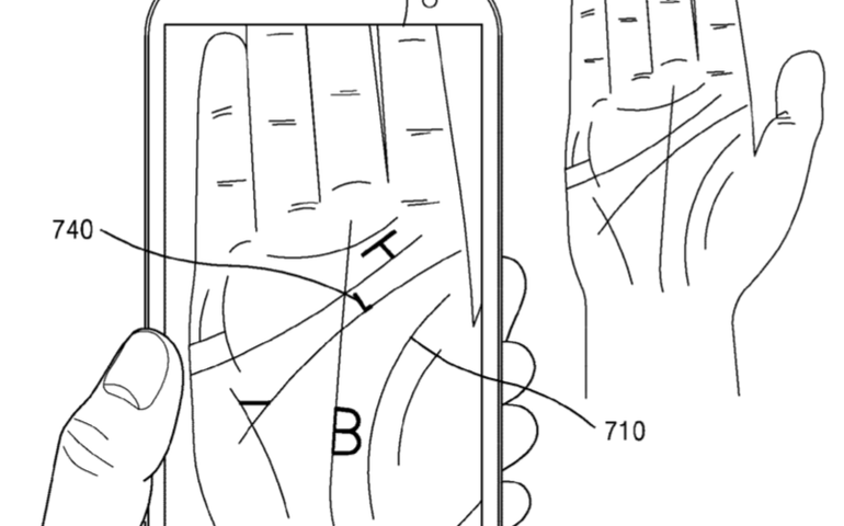 Forgotten password? Samsung's future phones could retrieve it using your palm