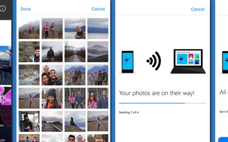 Windows 10: This Microsoft mobile app wirelessly transfers pics from Android, iOS