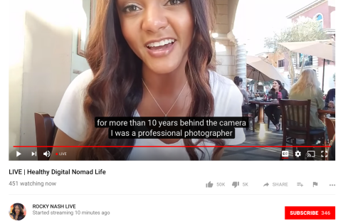 YouTube Live gains automatic captions, chat replay and more