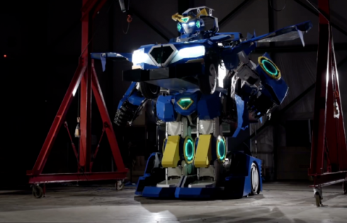 This is a real life Transformer