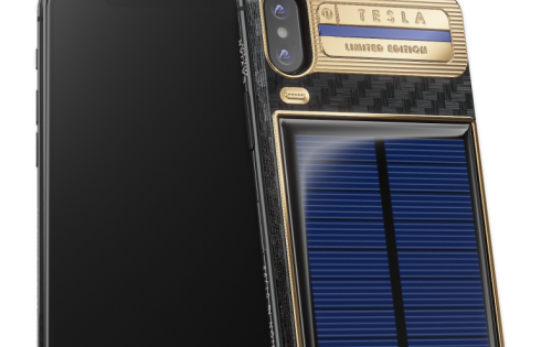 iPhone X Tesla: Need to get rid of cash? This $4,500 solar-power phone is an option