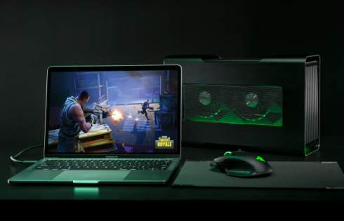 Razer's new external graphics enclosure is compatible with Macs