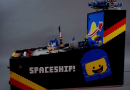 This functional pinball machine is built entirely of LEGO