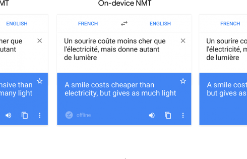 Google brings offline neural machine translations for 59 languages to its Translate app