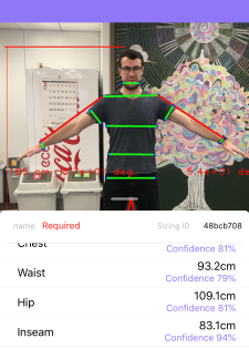 Original Stitch's new Bodygram will measure your body
