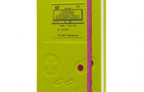 Now you're journaling with power! (with this Mario-branded Moleskine gear)