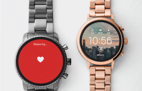 Fossil announces new update Android Wear watches with HR tracking, GPS