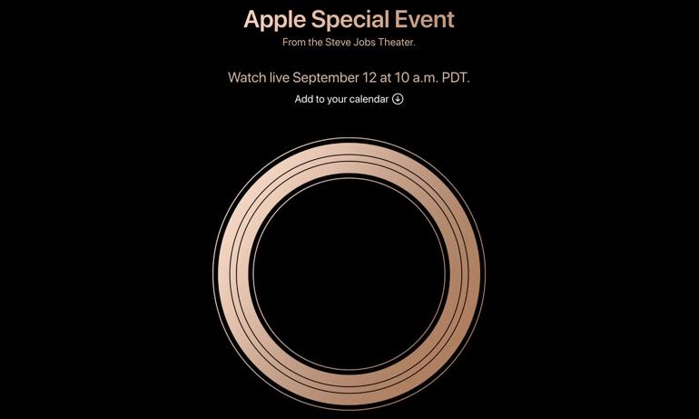 How to watch Apple's iPhone event on September 12, 2018