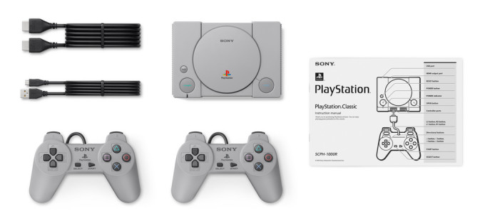 Sony announces the PlayStation Classic, its own mini retro console
