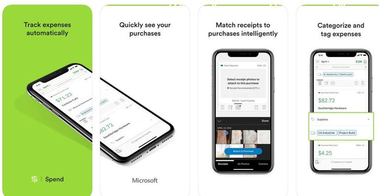 Microsoft rolls out Spend, an expense tracker for iOS