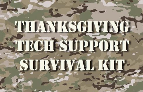 Check out our Thanksgiving tech support survival guide (2018 edition)