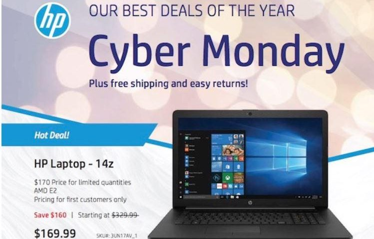 Best Cyber Monday 2018 laptop deals: Apple, Dell, HP, and more