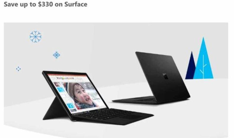 Microsoft Store Black Friday ad showcases Surface, Windows laptop deals